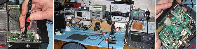 Ремонт радиостанции Alan 48 Exel